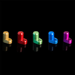 colored mouse button caps