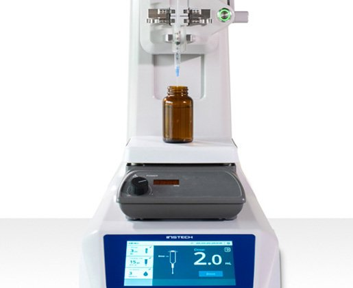 automated syringe filling
