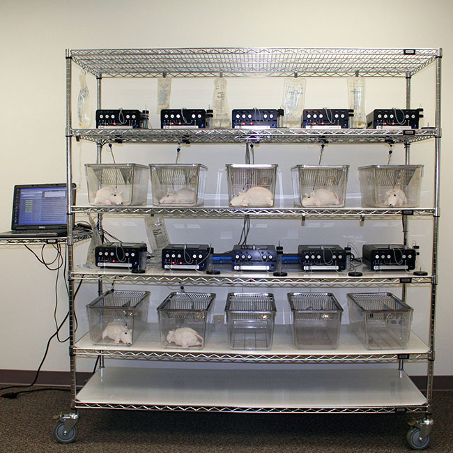 ABS Rack System | Automated Blood Sampler | Instech Laboratories