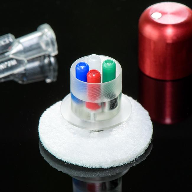 Four channel rat button